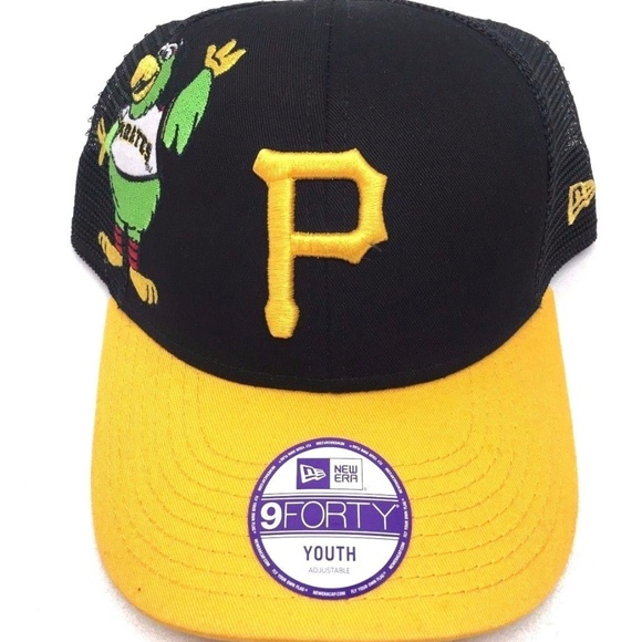 quality design fa95a 82a4c Youth New Era Pittsburgh Pirates 9Forty Cap